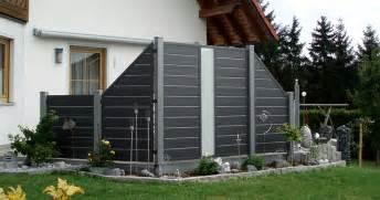 sichtschutz balkon kunststoff sichtschutz garten kunststoff grau ihr ideales zuhause stil