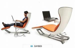 Chaise De Bureau Confortable : fauteuil de bureau design et confortable chaise roulante pour bureau lepolyglotte ~ Teatrodelosmanantiales.com Idées de Décoration