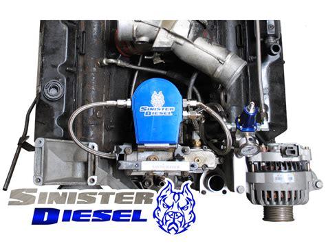 Ford 7 3 Turbo Diesel Fuel Filter Location by Sinister Diesel 7 3l Powerstroke Regulated Fuel Return W