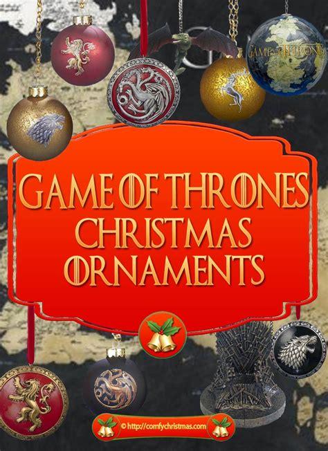 game  thrones christmas ornaments comfy christmas