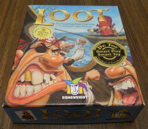 Loot Card Game Review  Geeky Hobbies