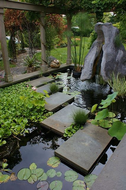 small water feature garden pond start  easy backyard garden decor project holicoffee