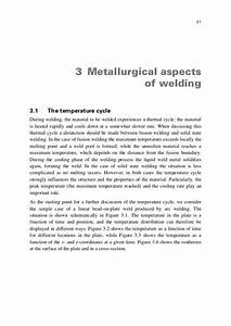 Metallurgical aspect of welding
