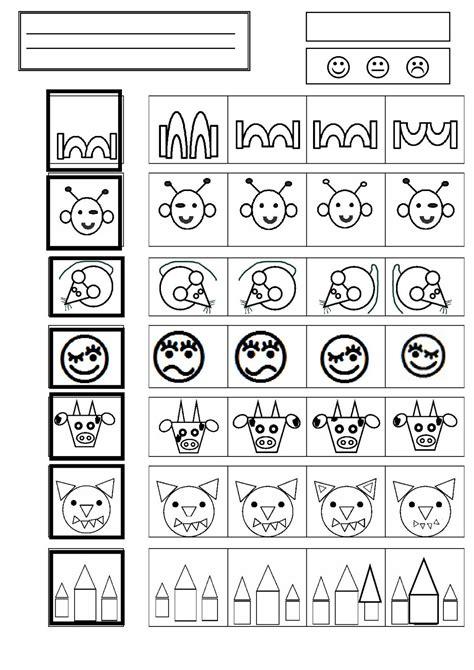 la cuisine de domi discrimination visuelle chez camille