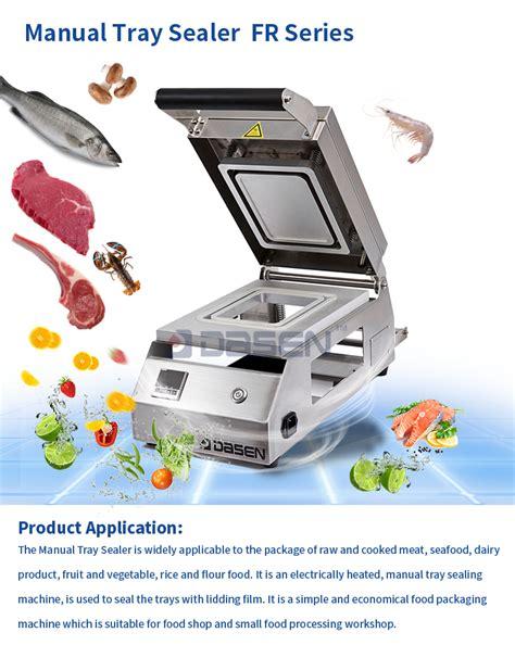 food meat manual tray sealer meal tray sealing machine table top tray sealer frb buy manual