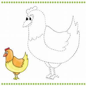 Dibujos y juegos de UNIR LOS PUNTOS para imprimir para niños