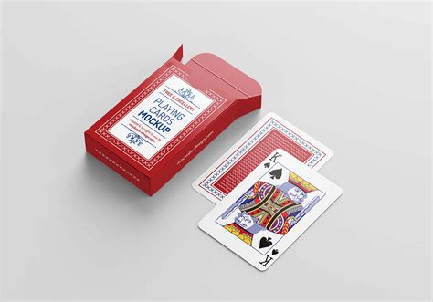 This amazing imac white mockup will help you to present your website design or presentation on an imac screen. Free Playing Cards Mockup (PSD)