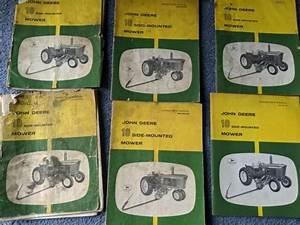 John Deere 50 Side Mounted Sickle Bar Mower Service Manual
