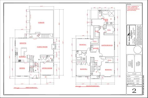 house layout plans floor plans r c searles associates
