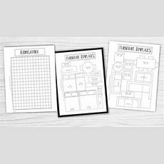 Free Printable Room Planner  Brooklyn Berry Designs