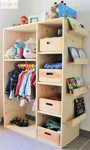 Dressing Chambre Enfant : dressing pour enfant 5 astuces pour bien l 39 am nager ~ Teatrodelosmanantiales.com Idées de Décoration