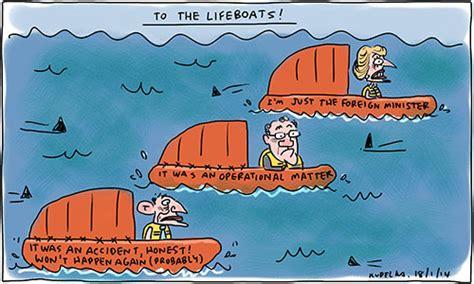 Cartoon Lifeboats by To The Lifeboats Kudelka Cartoons