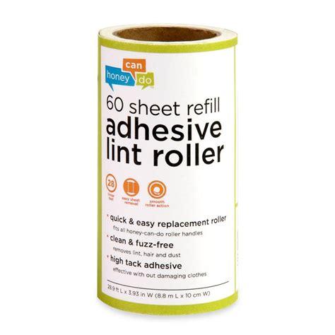 Honeycando 60sheet Lint Roller Refill (6pack
