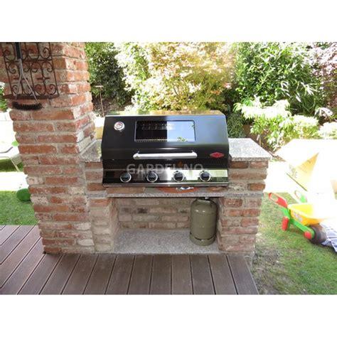 alfa cuisine grillplatz mit beefeater einbau gasgrill