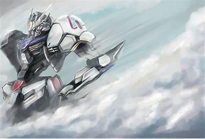 Gundam Blooded Orphans Iron Barbatos Suit Mobile