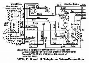Vintage Telephone Wiring Diagrams