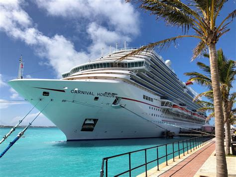 carnival is sending six cruise ships to bermuda
