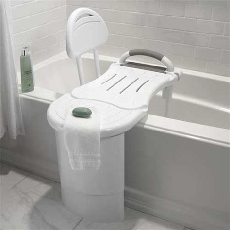 designer shower seats amazon com safety first s1f566w designer transfer bench white home improvement