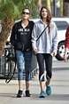 TERI HATCHER and EMERSON TENNEY Heading to a Gym in Los ...