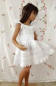 linge ancien belle robe de petite fille en fine toile de With robe boheme petite fille