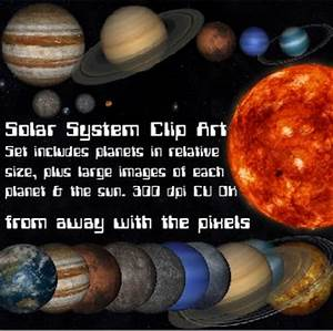Solar System Word Clip Art - Pics about space