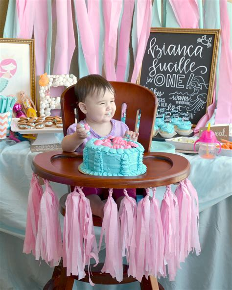 First Birthday Mermaid Party - Brie Brie Blooms