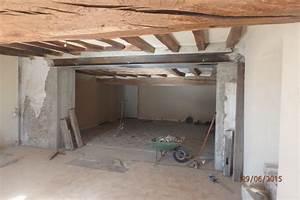 agrandissement extension robineau maconnerie With agrandir une porte dans un mur porteur