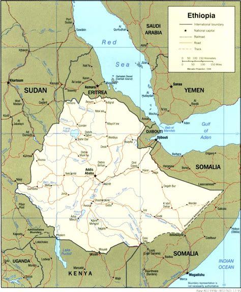 maps  ethiopia