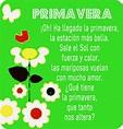 """Susurrando Poemas: CREANDO POEMAS EN EL AULA ... """"Primavera"""""""