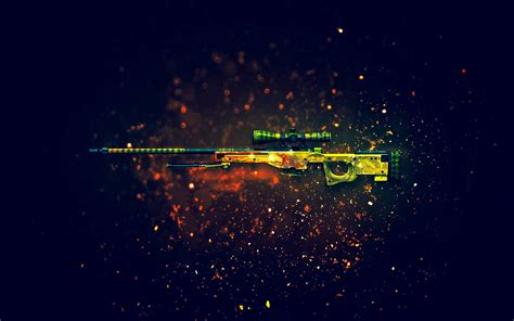 Awp Dragon Lore Full Hd Wallpaper And Background Image
