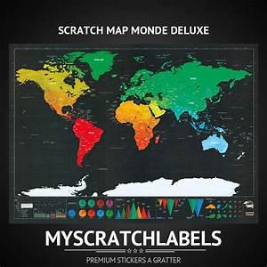 Carte Du Monde à Gratter Maison Du Monde : carte gratter monde deluxe ~ Teatrodelosmanantiales.com Idées de Décoration