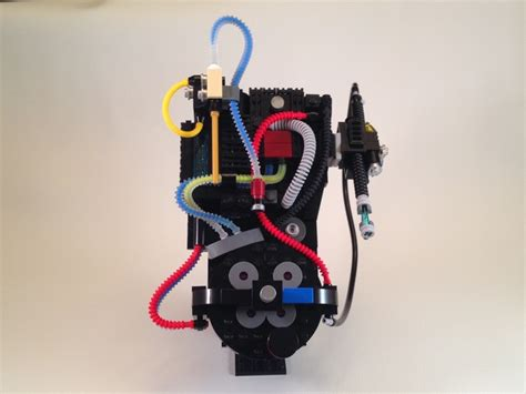 Lego Proton Pack by Lego Proton Pack Ghost Trap