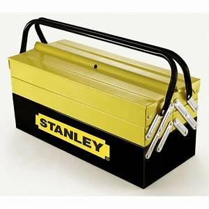 Caisse A Outils Metal : stanley boite caisse a outils metal 1 94 738 ~ Dode.kayakingforconservation.com Idées de Décoration