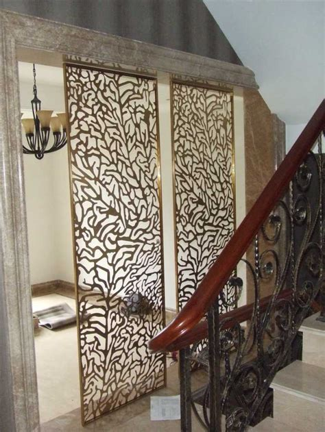 classical decorative stainless steel screens room