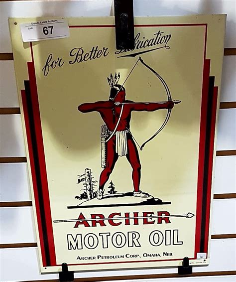 Tin Reproduction Archer Motor Oil Sign. Green Gold Banners. Bicultural Mama Signs. Trendy Murals. Blue Bell Logo. Skin Lesion Signs. Company Safety Signs. Bladder Infection Signs. Head Banners