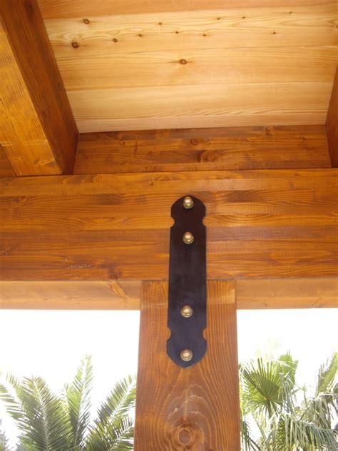 staffe per tettoie in legno ferramenta piastre supporti in metallo per assemblaggi e