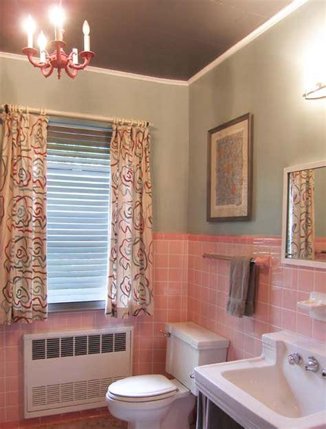 pink bathroom update mary olive design