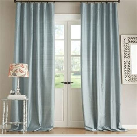 Pottery Barn Curtains Sheers by Pottery Barn Silk Dupioni Curtains June St Master