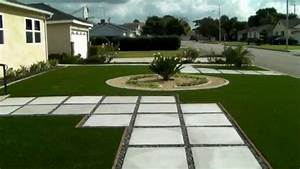 Landscaping ideas - front yard renovation - concrete curb