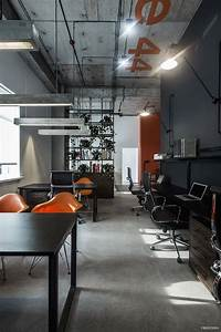 Cool, Offices, In, Industrial, Style