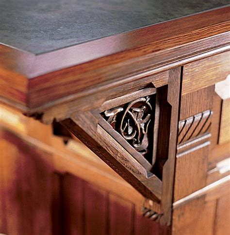 kitchen island brackets gingerbread millwork for house kitchens house 1848