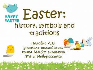 easter history symbols and traditions presentation