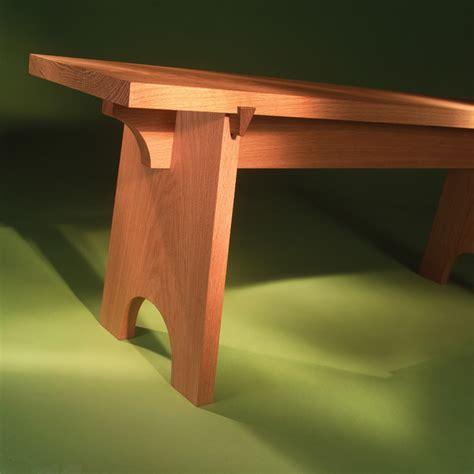 shaker bench plans plans diy   table plans