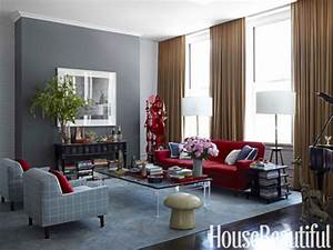Charcoal grey bedroom red blue and gray living rooms red for Gray and red living room