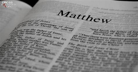 ¿quién Escribió El Evangelio De Mateo?