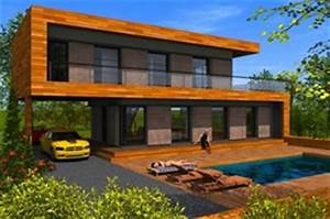 Maison écologique En Kit : maison en bois ecologique kit ventana blog ~ Dode.kayakingforconservation.com Idées de Décoration