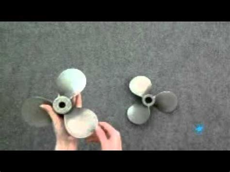 Boat Propeller Right Or Left by How To Determine A Left Vs Right Propeller Doovi