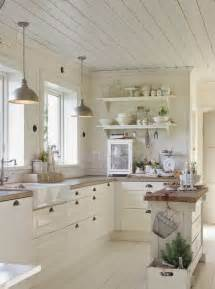 White Kitchen Decor Ideas 31 Cozy And Chic Farmhouse Kitchen Décor Ideas Digsdigs