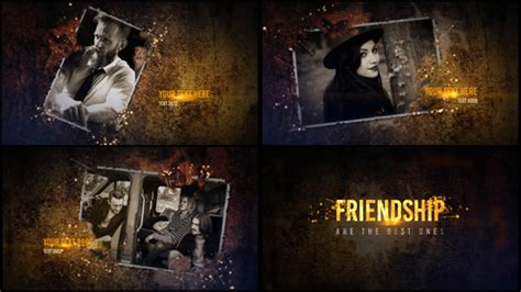 After Effects Template Eventes friendship slideshow special events after effects