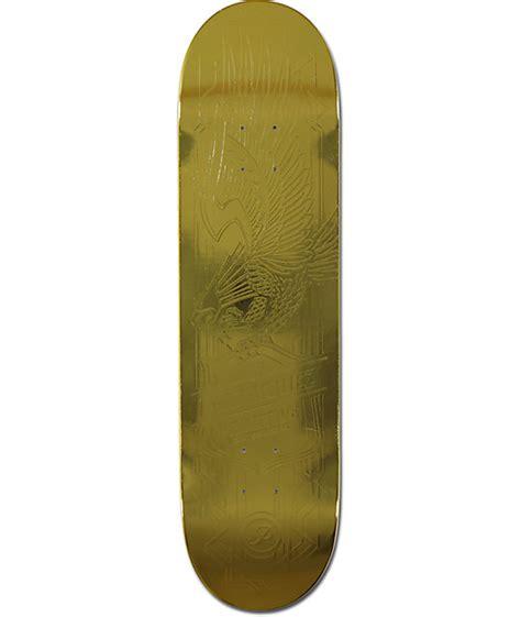 "Primitive P Rod Gold Eagle 825"" Skateboard Deck At Zumiez"
